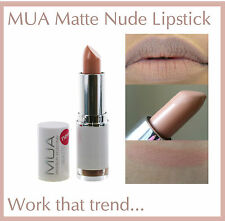 MUA MAKE UP ACADEMY MATTE LIPSTICK TOTALLY NUDE BARE NAKED LOOK NEW AND SEALED