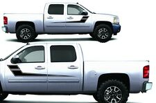 Chevrolet Silverado Truck 2008-2014 1500/2500/3500 Graphic Vinyl -  SIDE STRIPES