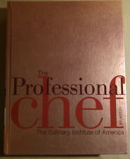 The Professional Chef, 8th Edition, Culinary Institute Of America Hardcover