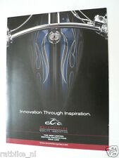 D482 BROCHURE PROSPEKT THE OCC SPLITBACK CHOPPER BIKE ENGLISH 6 PAGES MOTO