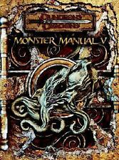 BRAND NEW COPY!  Monster Manual V Dungeons & Dragons 3.0 & 3.5 Edition D & D