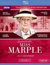 Miss Marple: Volume 2 (Blu-ray 2014, 2-Disc) Season BBC TV Series ~ NEW