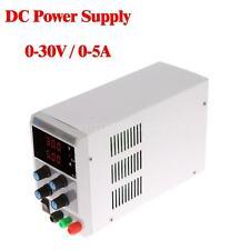 30V 5A Mini Adjustable Digital Regulated DC Power Supply 110V/220V Switch D4Y3