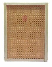 Dollhouse Miniature Pegboard with Black Hooks