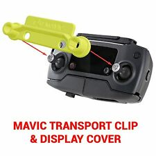 DJI MAVIC PRO - Screen Cover & Transport Clip Controller YELLOW USA seller