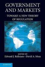 Government and Markets : Toward a New Theory of Regulation (2012, Paperback)