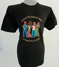 """PUTUMAYO WORLD MUSIC Maglietta T-shirt """"Celebrating 15 Years!"""""""