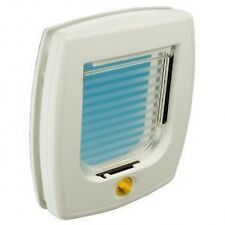 Ferplast Swing 3 Cat Pet Flap Door White 4 Way Lockable