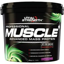 VitalStrength Professional Muscle Plus Weight Gainer 4Kg Chocolate