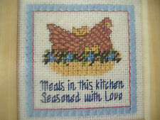 DIMENSIONS NEEDLEPOINT KIT-SEASONED WITH LOVE-CHICKEN SAMPLER