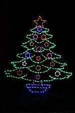 Decorated Tree LED metal wire frame outdoor display