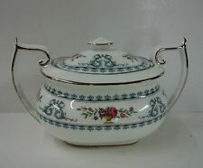 Spode China VERSAILLES Y8175B Sugar Bowl with Lid MADE IN ENGLAND Bone China