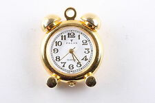 FOCUS BIG BEN NECKLACE PENDANT GOLDTONE WATCH W/ O CHAIN  6933