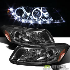 Smoked 2008-2012 Accord Sedan Projector Headlights w/DRL LED Running Lamps 08-12