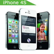 Apple iPhone 4S Original Unlocked 3G WIFI GPS 8GB Smartphone White