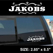 "Borderlands 2 / Pre-Sequel ""Jakobs"" Gun Manufacturer Sticker Decal"