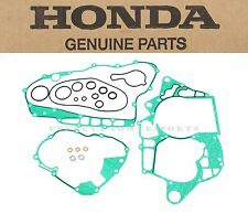 New Genuine Honda Bottom End Crankcase Engine Gasket Kit B 04-05 TRX450 R #Y140