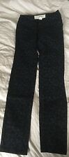 H&M Tube Jeans flower pattern Women's Size UK 8 CN 160/64A Waist 29/30