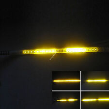 10X Yellow 30CM 1Ft 32 SMD LED Strip Light Knight Rider Flash Strobe Scanner