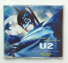 U2 Hold Me Thrill Me Kiss Me Kill Me 3 tracks CD SINGLE Batman 1995 GERMANY