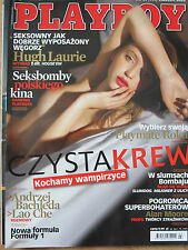 Playboy 3/2009 front Kasia Danysz,in:M.Monroe,Madonna,Angelina Jolie,H.Laurie