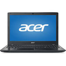 "New Acer E15 i7-6500U 3.1GHz 15.6"" HD 8GB DDR4 1TB HDD DVDRW USB3.1 VGA W10H 1Yr"