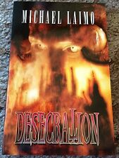 DESECRATION Michael Laimo 1st ed 400 COPY SIGNED/LIMITED HC fine OUT OF PRINT