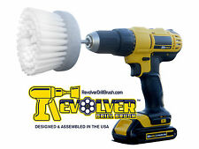 The REVOLVER-POWER SCRUB-DRILL BRUSH--HOME & BOAT--NEW! ACTUAL MANUFACTURER!