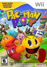 Pac-Man Party [Nintendo Wii, Arcade Classics, Family Fun, 45 Mini-Games] NEW