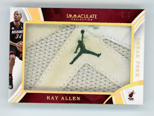 2015-16 Panini Immaculate Sneak Peek Ray Allen 3/3 Jordan Logo Miami JUMPMAN