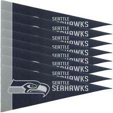 SEATTLE SEAHAWKS 8 PIECE FELT MINI PENNANTS SET PACK NFL FOOTBALL
