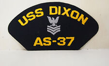 USS Dixon AS - 37 Officer Eagle 1st class patch patches USN US Navy NEW
