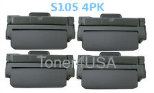 4 Pack MLT-D105L Toner Cartridge For Samsung ML-2525 ML-2580n SCX-4600 SCX-4623