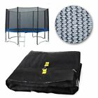NEW 12FT REPLACEMENT TRAMPOLINE SAFETY NET ONLY ENCLOSURE SURROUND 8 POLES