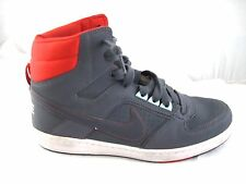 Nike 8.5M mens sneakers grey red sensory motion system hightops basketball shoes