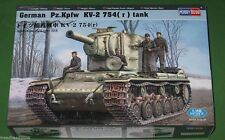 German Pz.Kpfw KV-2 754(r) Tank 1/48 Scale Hobby Boss 84819