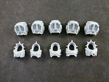 40K Chaos Space Marines : Terminators Squad Front + Rear Main Body / Torso (5)