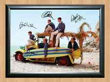THE BEACH BOYS Signed Autographed A4 Print Poster Photo Autograph Band Group