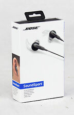Genuine Bose SoundSport In-Ear Headphones Charcoal- SoundSport IE HP 741776-0140
