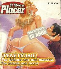 """LIBRO DEL PLACER""  PENETRAME mexican comic SEXY GIRLS, SPICY HISTORIES #16"