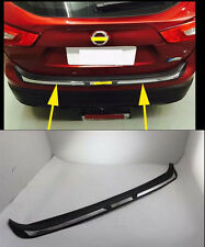 Rear Bumper Protector Sill Plate for 2015-2016 Nissan Qashqai door ABS