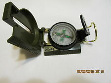 [1]  COMPASS LENSATIC MILITARY OD FOR HIKING--CAMPING--SURVIVAL--EMERGENCIES 1