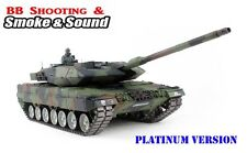Heng Long Radio Remote Control RC Tank  NATO Leopard 2A6  -- Platinum