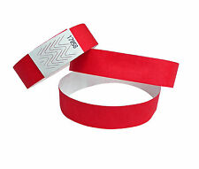100 Braccialetti Tyvek - braccialetti - Braccialetti evento - rosso/red/Rosso