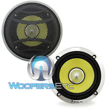 "FOCAL 3KRX3 3"" 50W RMS K2 POWER MIDRANGE YELLOW SPEAKERS KIT FROM KRX3 PAIR NEW"