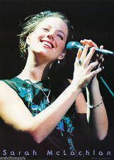 """SARAH MCLACHLAN """"HOLDING MICROPHONE"""" 1983 COMMERCIAL POSTER (GB Posters #LPO579)"""