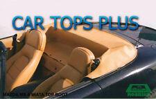1999-2005 Mazda Miata Convertible Top Boot Cover,  OEM TAN Vinyl