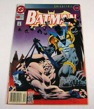 Batman #500 Signed by Mike Manley! Bane Cover NM/NM- KNIGHTFALL DC COMICS 1993