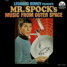 Leonard Nimoy (Star Trek) Presents Mr. Spock's Music From Outer Space RARE NM LP