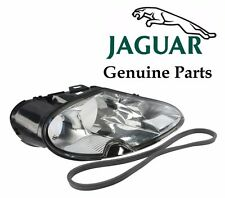 Jaguar XK8 XKR Passenger Right Headlight Lens Genuine LJA 4650BA